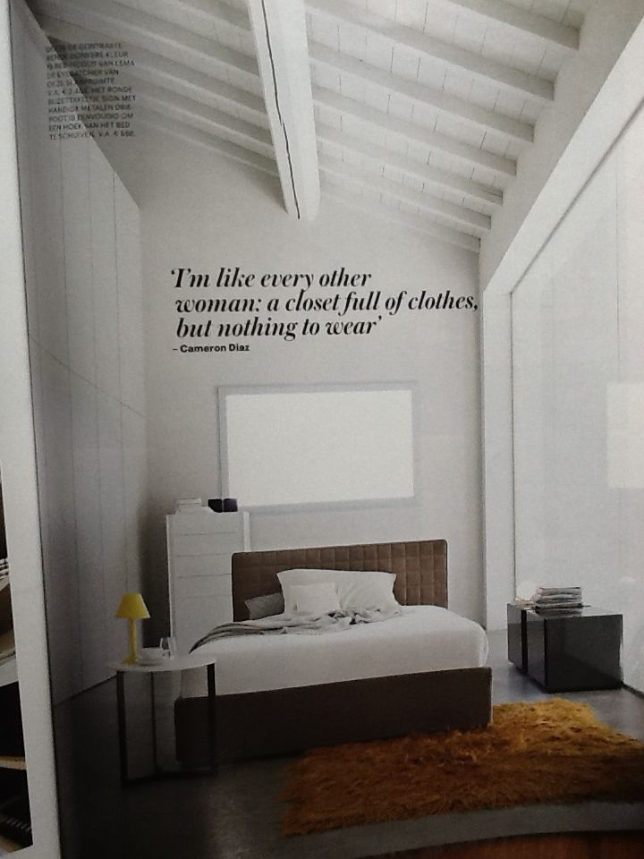 Wit balkenplafond