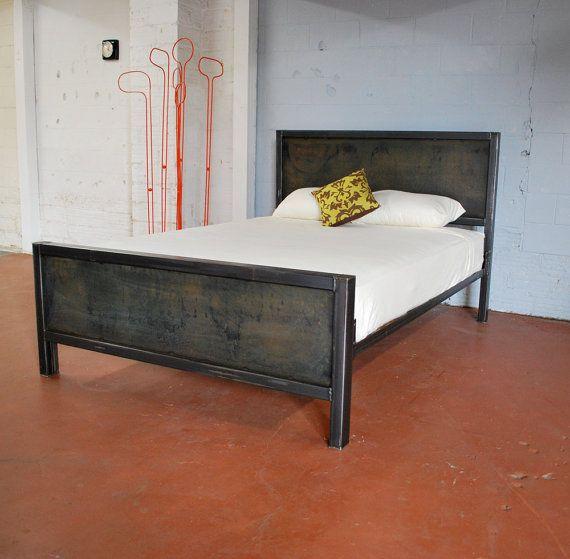 Kraftig Bed Number 2 Variation Number 2 by deliafurniture on Etsy, $1000.00