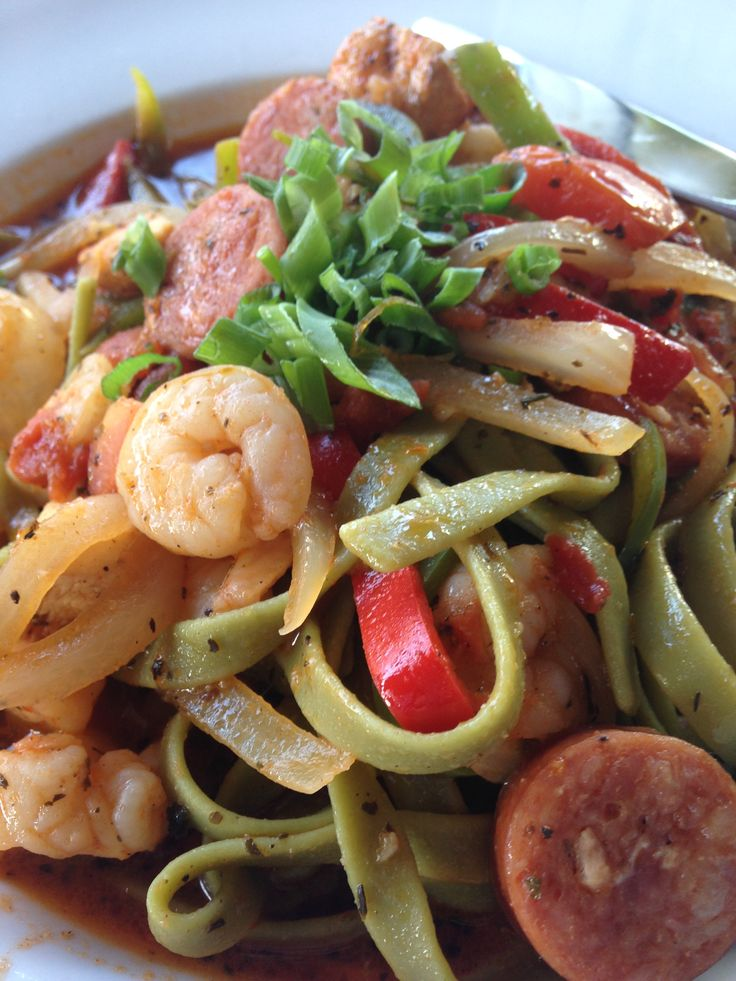Pasta Jambalaya At Ralph Brennanu0027s Jazz Kitchen In Downtown Disney  District. Gulf Shrimp, Andouille