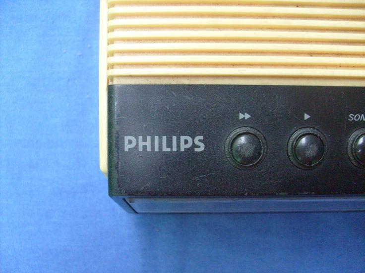 RÁDIO RELÓGIO DIGITAL PHILIPS MODELO 470 AM / FM RELÓGIO DIGITAL...