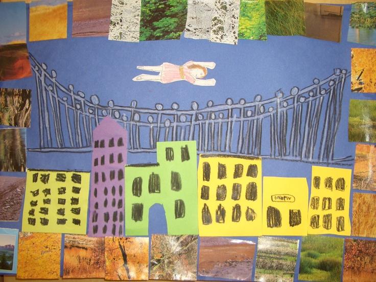 Faith Ringgold Tar Beach kids art project