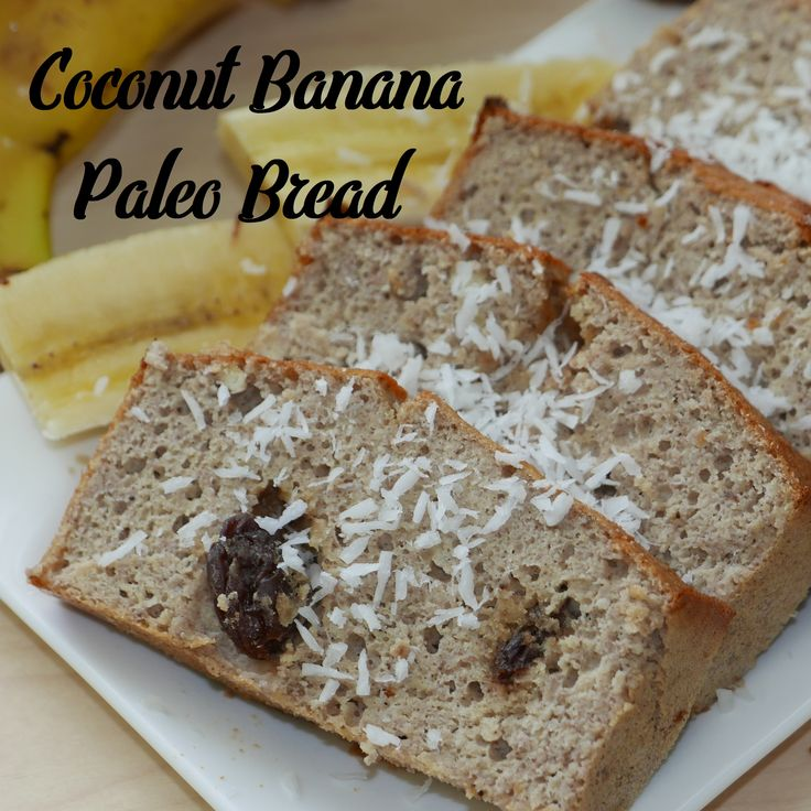 Simple recipe for delicious banana bread. This recipe is suitable for paleo, gluten-free, and dairy-free diet. Bread is naturally sweetened by added banana.  Bon appetit :-)