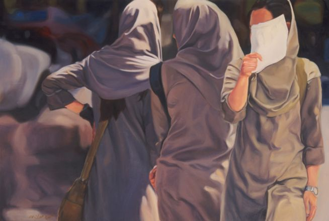 Sharjah Art Foundation - School Girls, 2009-on going