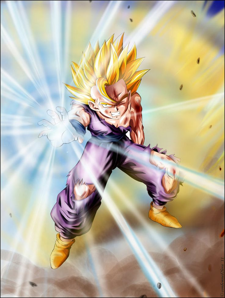 224 best images about dragon ball on pinterest android 18 son goku and dragon ball - Dragon ball gohan super saiyan 4 ...