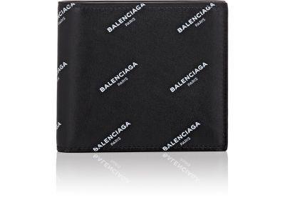 BALENCIAGA Logo Classic Square Wallet. #balenciaga #wallet
