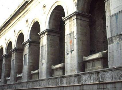Tempio Malatestiano. GB Alberti,Rímini