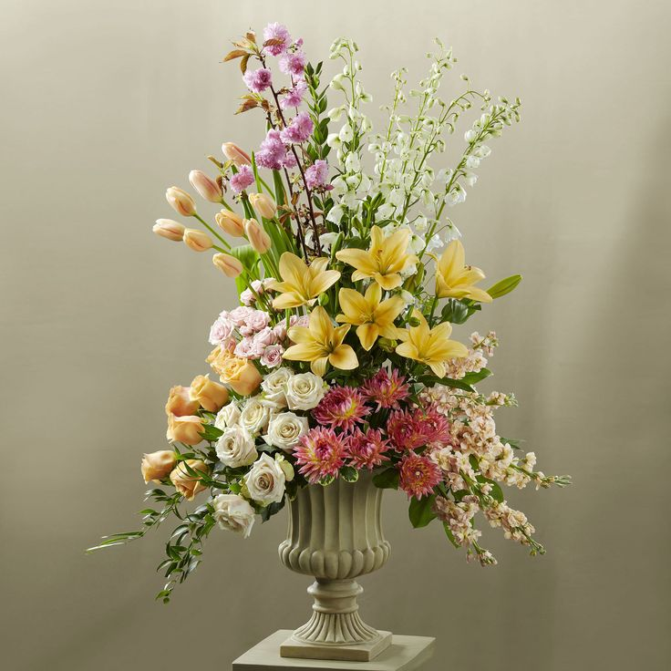 Large Wedding Altar Arrangements: Brighten The Church With This Celebration Of Love