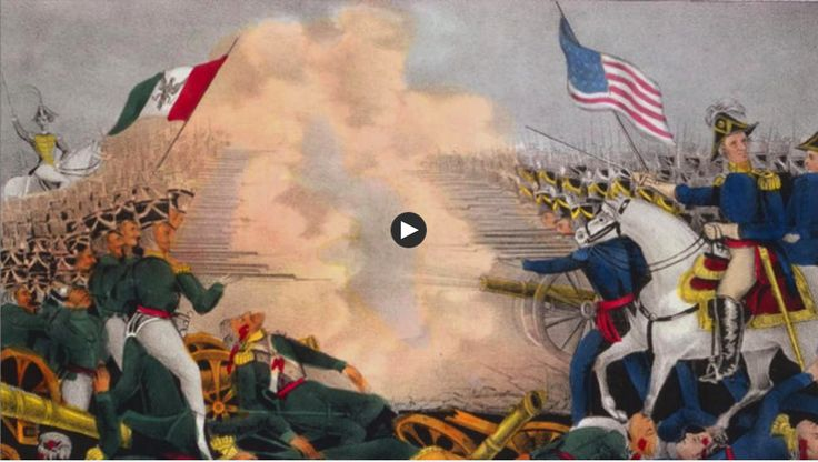 PBS online video about the Mexican-American War