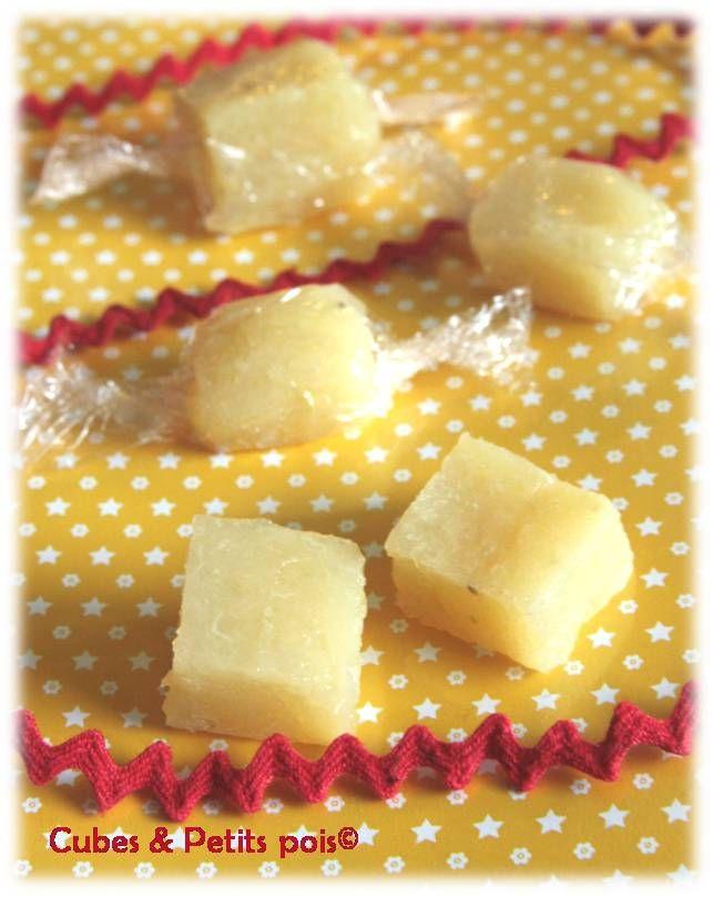 Bonbons de compote de pommes Recette pour bébé / Applesauce candies baby recipe