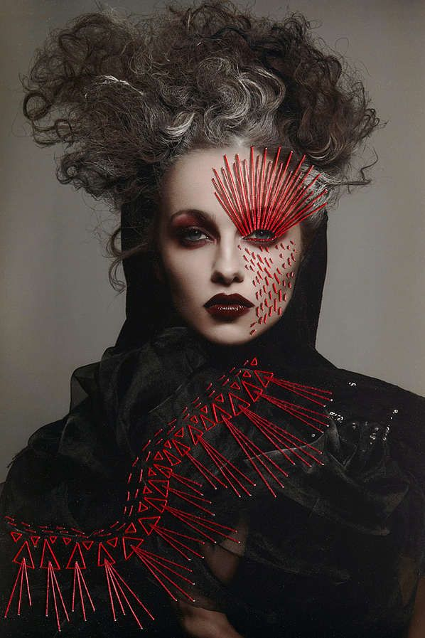 Metallic Female Photography