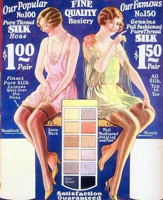 vintage stocking fashion   Glamourdaze