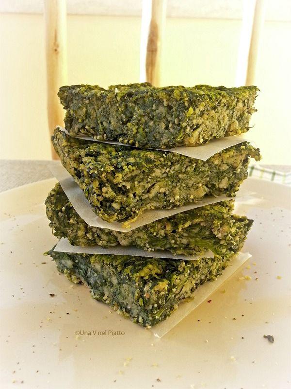 Sformato di spinaci e besciamella - Una V nel piatto - Ricette Vegane e Mondo Vegan
