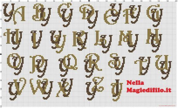 Iniciales letras entrelazadas Y