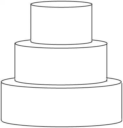 14 best templates for cake design images on pinterest design 3 tier round pronofoot35fo Choice Image