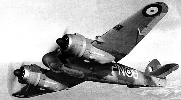 Whispering death aircraft | Great Britain's Bristol Beaufighter fighter bomber - World War II ...
