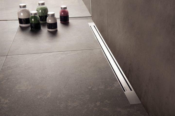 Linear Shower Drains   Easy Drain   Barrier-free showering ...