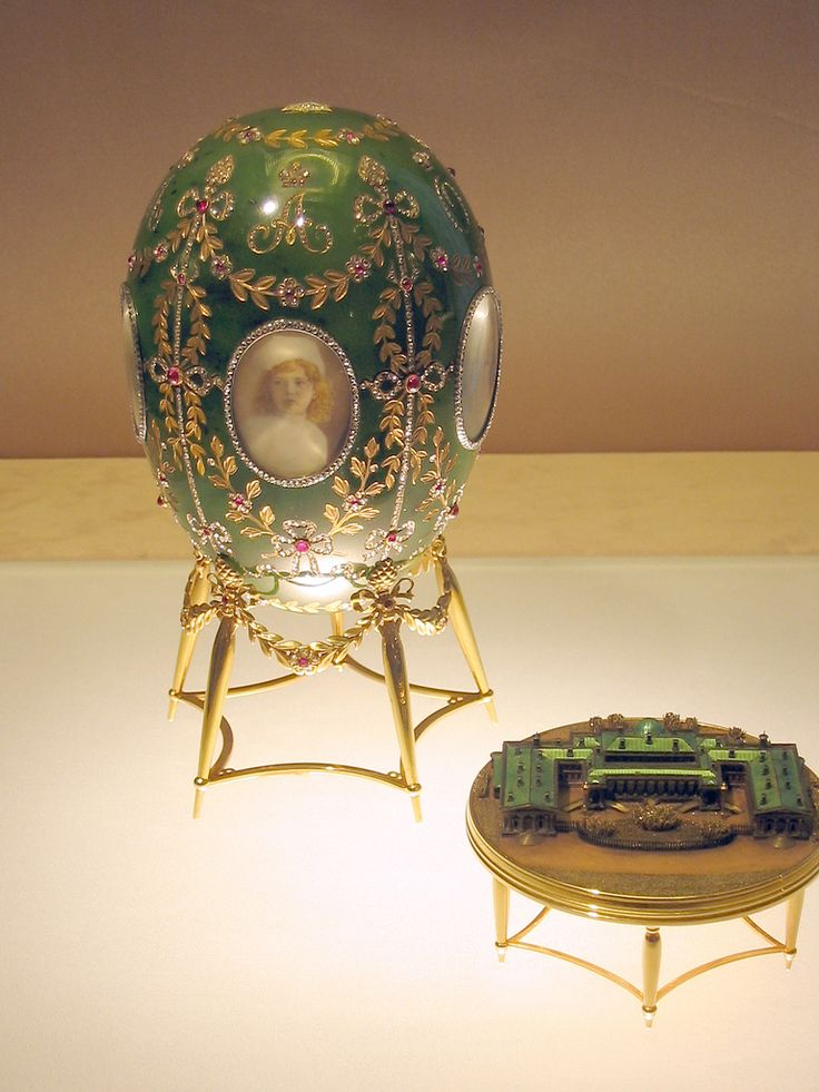 Faberge Imperial Easter Eggs - 1908 Alexander Palace(アレクサンドル宮殿) | by madoa