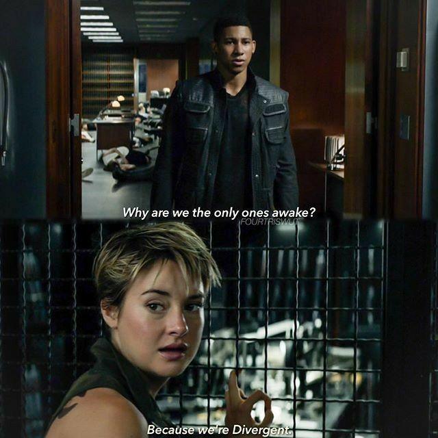 Divergent – Insurgent – Allegiant