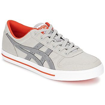 Baskets mode Onitsuka Tiger AARON CV Gris / Orange 350x350
