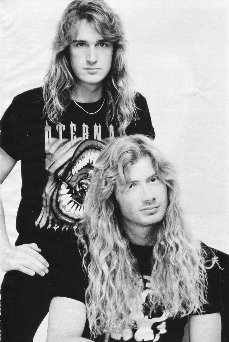 David Ellefson and Dave Mustaine- Megadeth