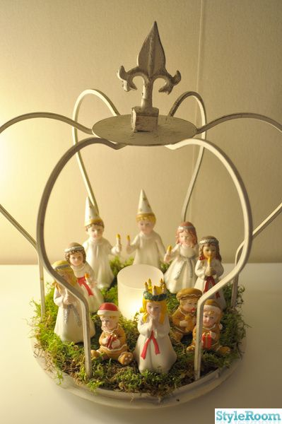 Lucia, Swedish Christmas decoration