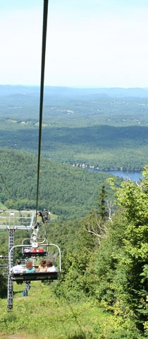 Mount Sunapee Sky Ride. Sunapee New Hampshire