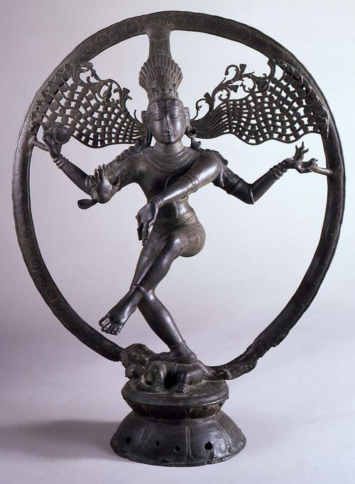 India, Tamil Nadu (Indian), Shiva Natarāja, Lord of the Dance , 11th-12th century, bronze The Portland Art Museum