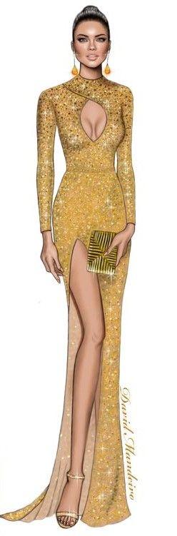 Adriana Lima wearing La Bourgeoisie  2017 Vanity Fair Oscar Party by David Mandeiro