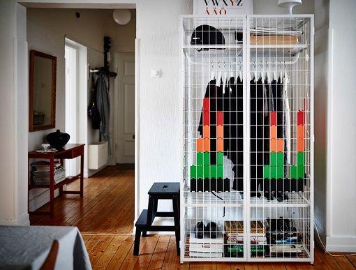 17 mejores ideas sobre vestidores baratos en pinterest - Armarios baratos en ikea ...