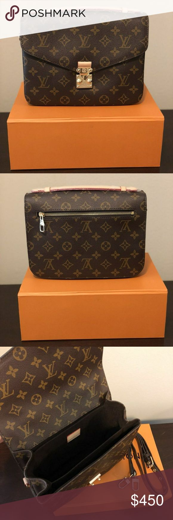 Luxury LV Bag High quality luxury bag 1:1 Comes with box and dust bag. Price reflects the authenticity. Louis Vuitton Bags