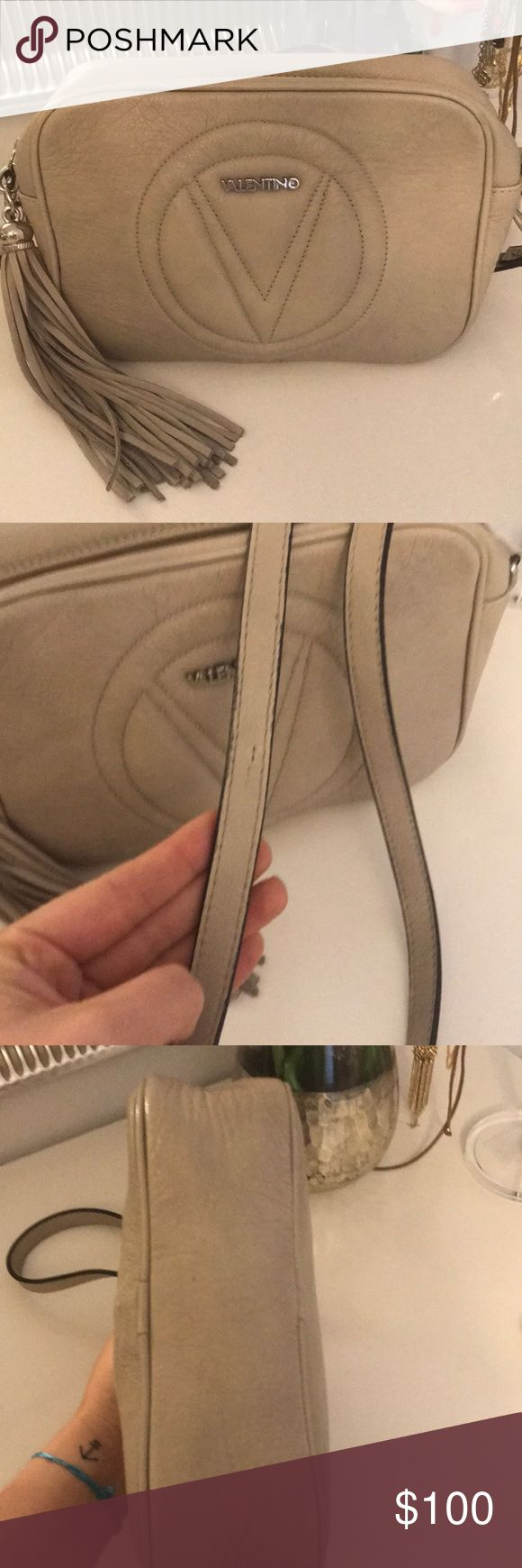 Valentino by Mario Valentino Crossbody bag Bag is in good shape but does have signs of wear pictured. Mario Valentino Bags Crossbody Bags