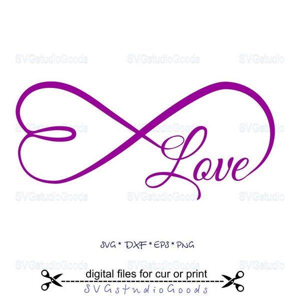 Infinity Heart Svg Infinity Symbol Svg Eps Dxf Png Etsy In 2021 Infinity Symbol Symbols Infinity Wallpaper