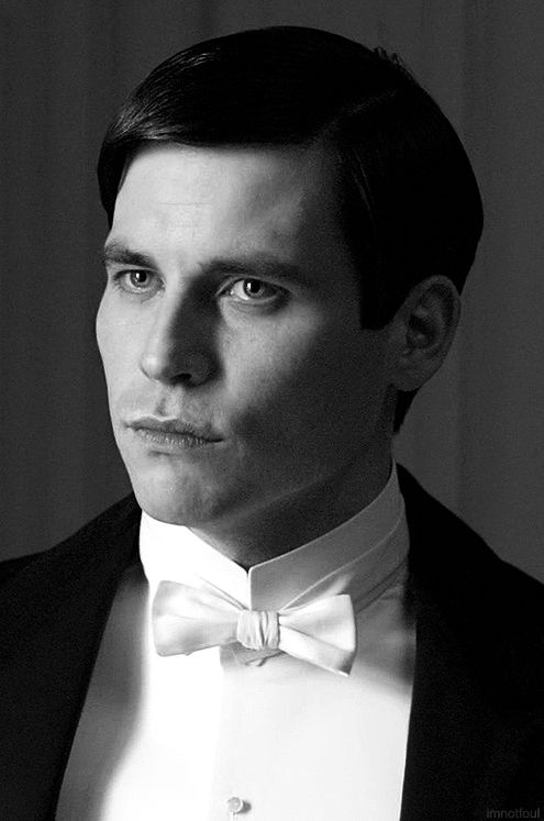Thomas Barrow - handsome and twisted character aren't we.