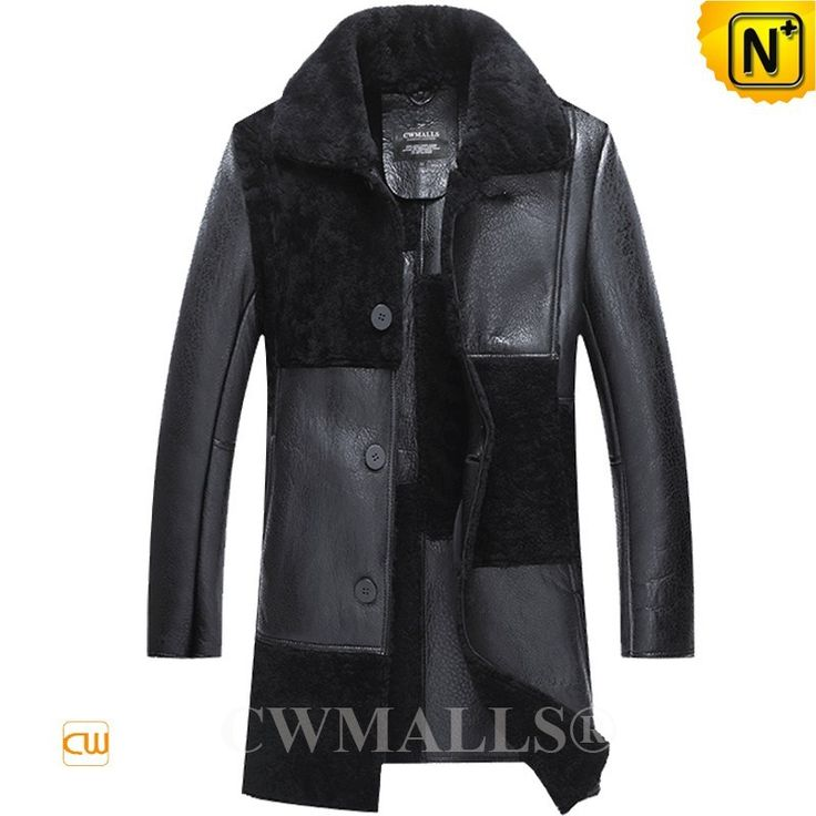 USA Brand | CWMALLS® Los Angeles Black Shearling Coat CW807666[Global Free Shipping]