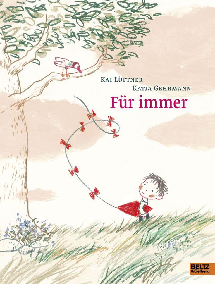 """Egons Papa ist tot und """"Für immer"""" weg. Kai Lüftner und Katja Gehrmann haben ein Bilderbuch gemacht über den unerträglichen Verlust und ein kleines bisschen Hoffnung."""