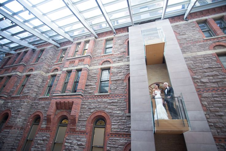 Royal Conservatory of Music bride and groom