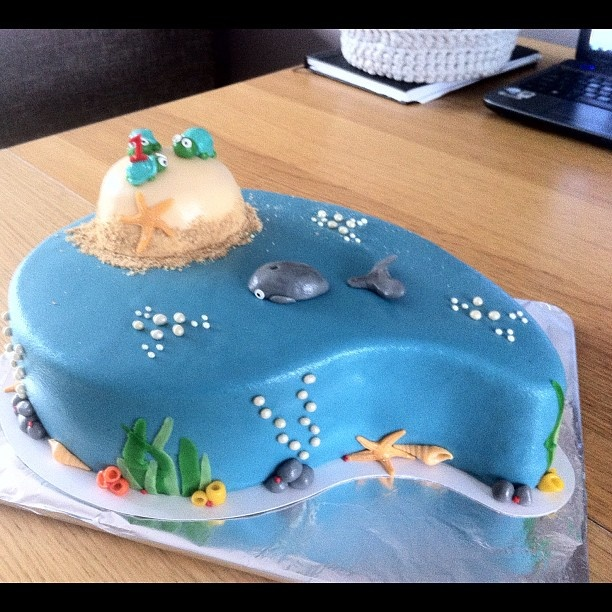 25+ Best Ideas About Ocean Birthday Cakes On Pinterest
