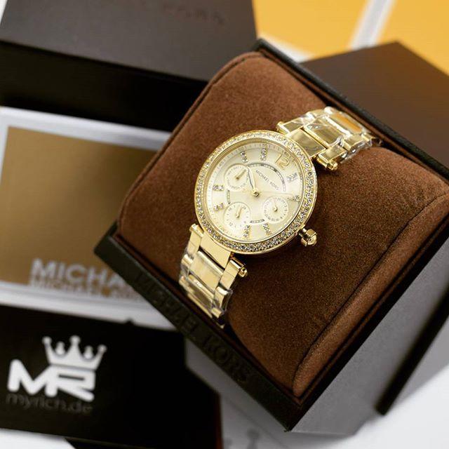 Michael Kors MK6056 | @MyRich.de #MichaelKors #michaelkorswatch #mk #logo #original #official #watch #style #uhr #mk6056 6056 #mkwatch #germany #newwatch #chronograph #lifestyle #brand #seller #womenfashion #luxus #juwelry #luxury #lady #fashion #time #special #yellow #gold #accessories #crystal
