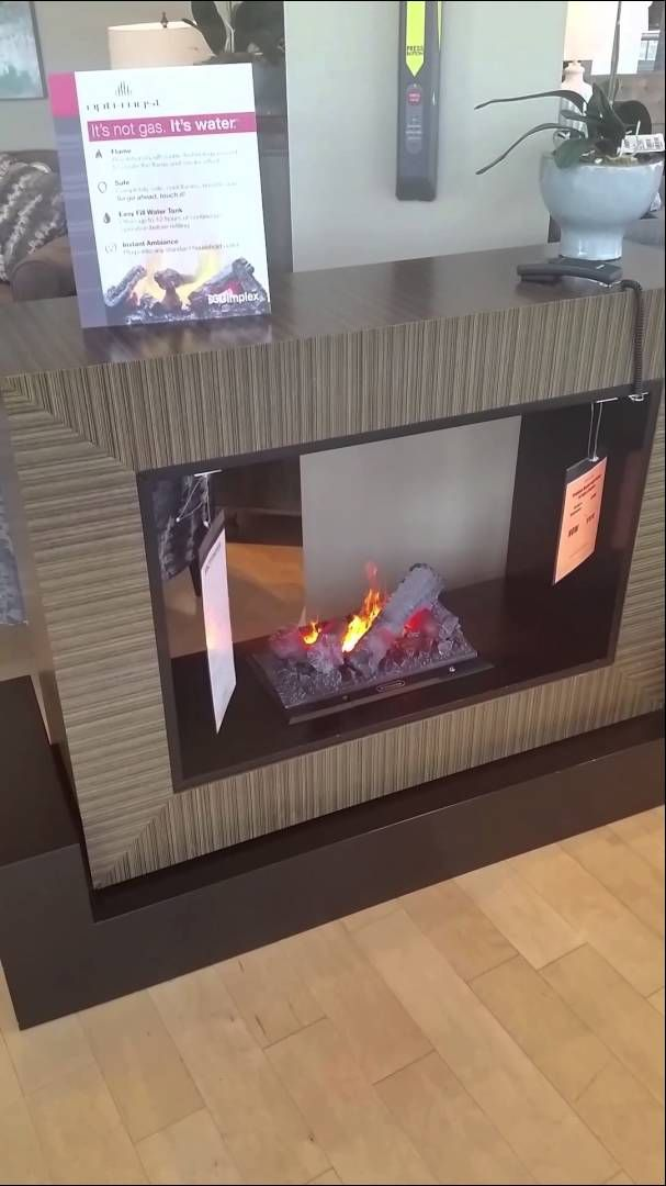 Dimplex Electric Fireplace With Opti Myst Technology Electric Fireplaces By Dimplex