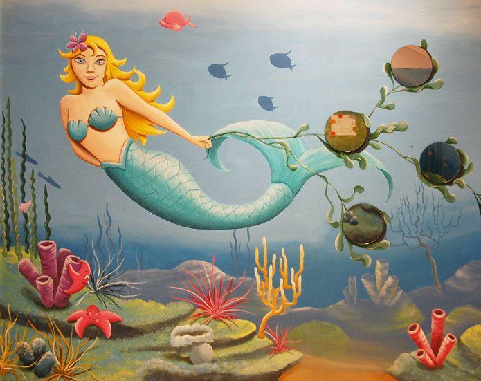 170 best images about muurschilderingen murals wandschilderingen muurtekeningen on pinterest - Ontwerp muurschildering ...