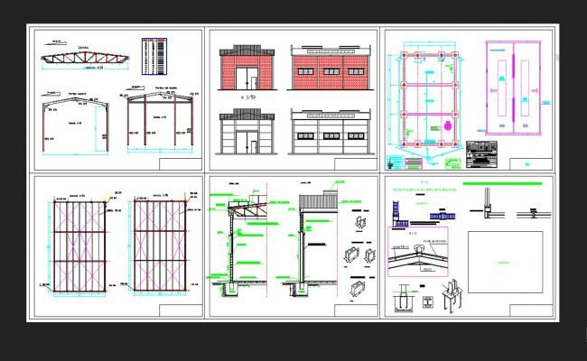 Housing Detail Section Drawing In Dwg File Cadbull In 2020 Autocad Drawing Autocad Section Drawing