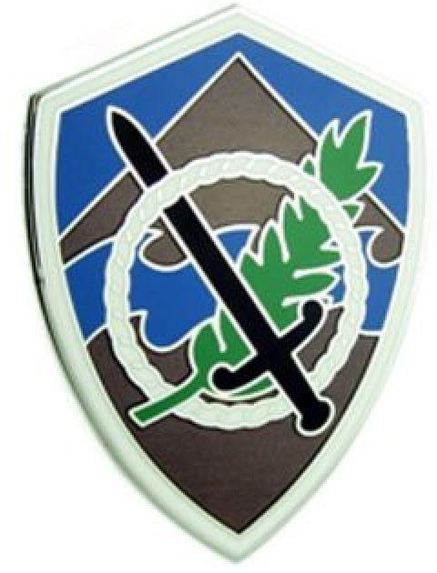 350TH CIVIL AFFAIRS COMMAND, COMBAT SERVICE IDENTIFICATION BADGE