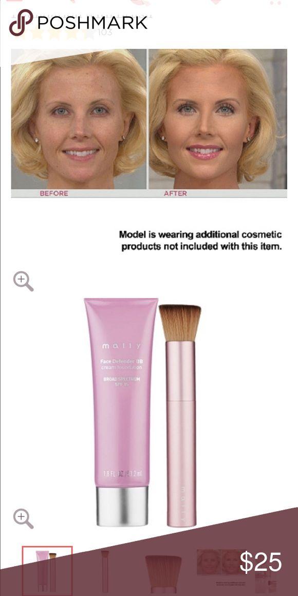 ew mally  face defender bb foundation spf 15 Makeup Foundation