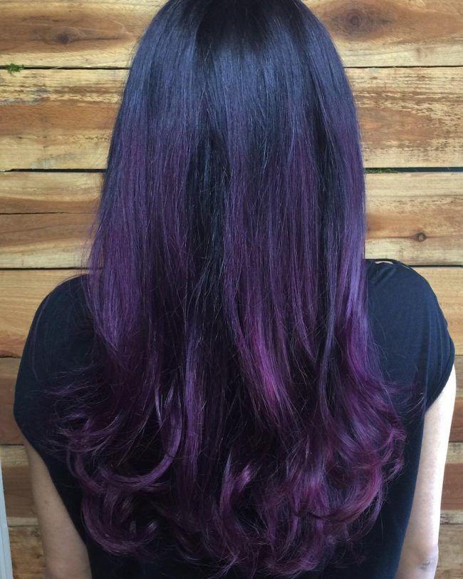 Dark+Purple+to+Plum+Ombre