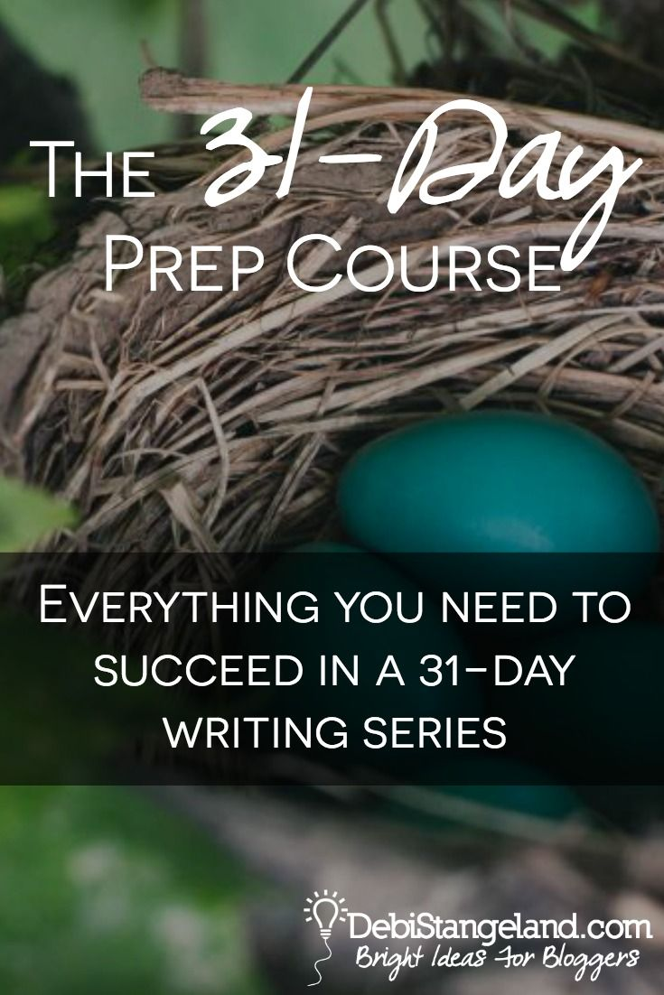 Writing a 31-day series is much more than just 31 blog posts. You need a link up button, graphics, a landing page, an email list, and much more. Find out what you need to succeed in your next 31-day writing series and then learn how to create all of it in advance. You'll hit the ground running for your next series and be a smashing success.