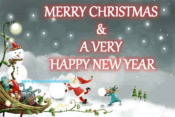 Merry Christmas And Happy New Year christmas merry christmas christmas quotes…