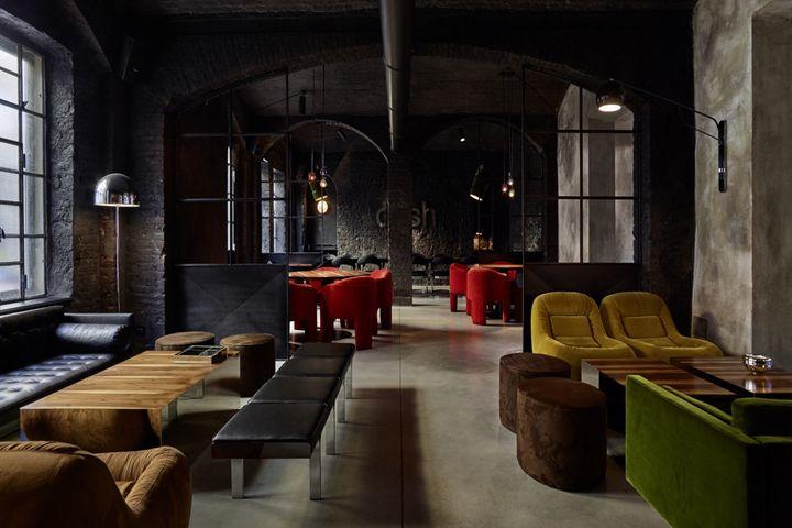 Разработка интерьера ресторана: секреты Фабио Фантолино