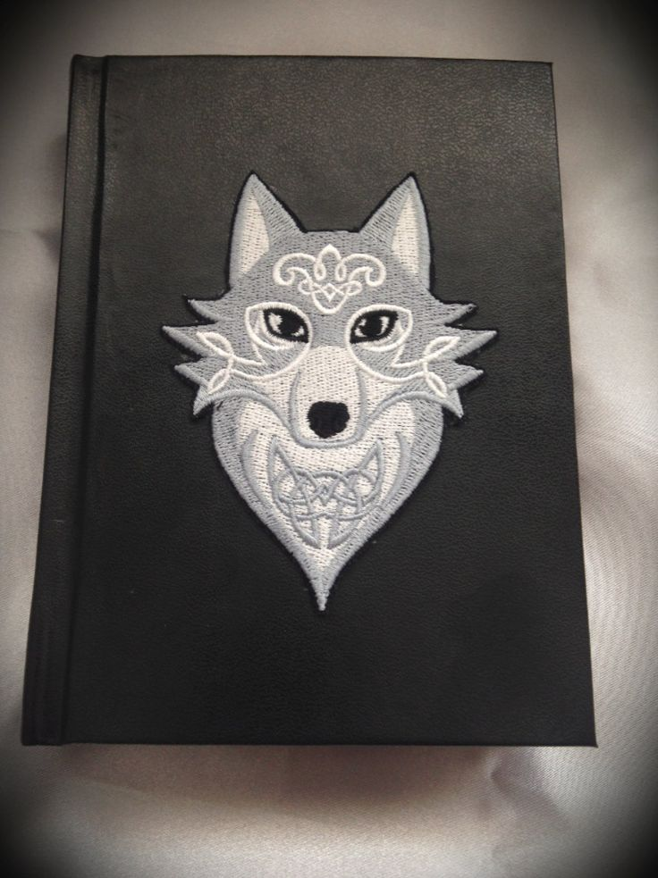 """Libro delle Ombre """"Celtic Wild Wolf"""" by LittleSorcerer on Etsy"""