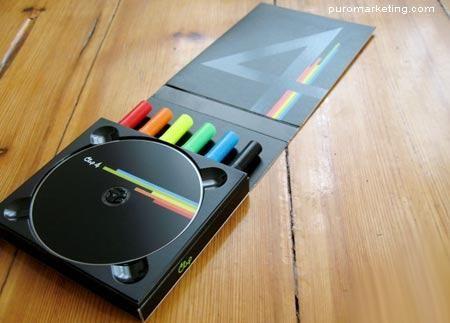 Packaging de CD.