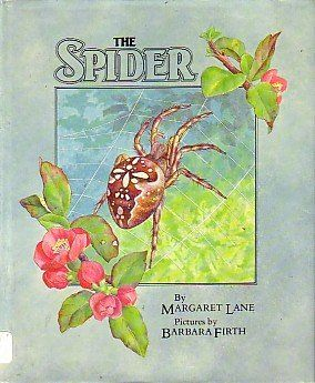 In the '80s, Amelia Edwards commissioned Barbara to illustrate non-fiction for Walker Books. Barbara illustrated Margaret Lane's The Spider (1982), an introduction to several species of spider. This one isn't for arachnophobes!